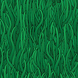 Abstract background of green grass. Seamless pattern. Vector illustration Royalty Free Stock Photography