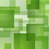 Abstract background with green layered rectangles. Abstract background with green translucent rectangles layered one on the other Royalty Free Stock Photo