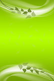 Abstract background of green leaves Stock Images
