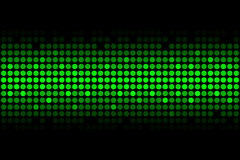 Abstract background - green lights Stock Image