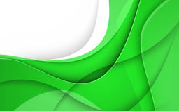 Abstract background with green lines. Vector. Clip-art Stock Photography