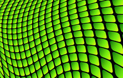 Abstract background green. Square mosaic, 3D vector illustration Royalty Free Stock Images