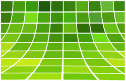 Abstract background green. Square mosaic, 3D vector illustration Stock Image