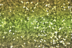 Abstract background with green square pixel Royalty Free Stock Photos