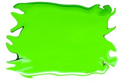 An abstract background of a green stain. In vector format Royalty Free Stock Photography