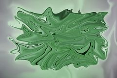 An abstract background of a green stain. In  format stock illustration