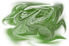 An abstract background of a green stain. In vector format Royalty Free Stock Photos