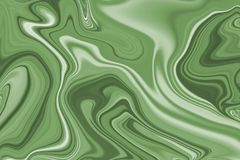 An abstract background of a green stain. In vector format royalty free illustration