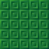 Abstract background green tiles Stock Photos