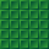 Abstract background green tiles. Seamless pattern, vector illustration Stock Images