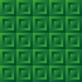 Abstract background green tiles. Seamless pattern, vector illustration Stock Photos