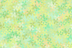 Abstract background of green tone flower shape cross and blend together. Abstract background of green tone flower shape crossing and blending together Royalty Free Illustration