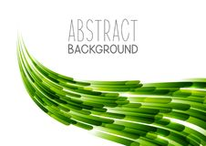 Abstract background with wave. Abstract background with green wave Royalty Free Stock Image