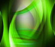 Abstract background green wave Stock Photo