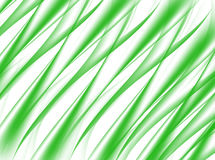 Abstract background of green wave on white. Stock Photography