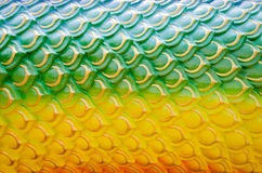 Abstract background green and yellow. Naga texture fang Stock Illustration