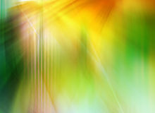 Abstract background in green, yellow and orange colors.  Royalty Free Stock Photos