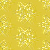 Abstract background greeting with stars. Vector seamless pattern Royalty Free Stock Photo