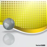 Abstract background with grey globe Stock Photo