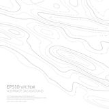 Abstract background with grey lines on a white background. Lines on a map. Monochrome image. Space for text. Abstract background with grey lines on a white royalty free illustration