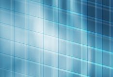 Abstract background, with grid line. Abstract blue background, with grid line. modern building glassy exterior Stock Images