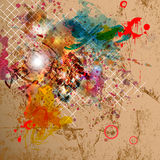 Abstract background with grunge design. Stock Photo