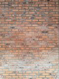 Red brick flat wall texture. Abstract background from grunge horizontal red brick flat wall texture royalty free stock images