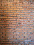Red brick flat wall texture. Abstract background from grunge horizontal red brick flat wall texture.Modern architecture wall.Abstract royalty free stock photos
