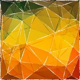 Abstract background-01. Abstract grunge polygonal background. Design elements for banners or flyers Stock Image