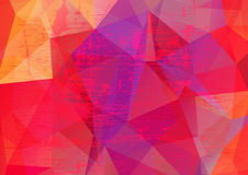 Abstract background-15. Abstract grunge polygonal background. Design elements for banners or flyers vector illustration