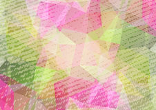 Abstract background-07. Abstract grunge polygonal background with fabric texture. Design elements for banners or flyers stock illustration