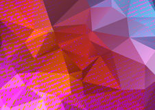 Abstract background-01. Abstract grunge polygonal background with fabric texture. Design elements for banners or flyers Stock Photography