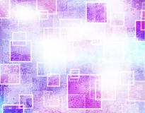 Abstract background with grunge squares. Color stock illustration