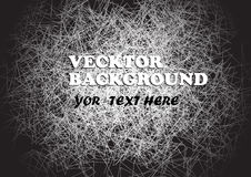 Abstract background in the grunge style black-grey-white.vector illustration Stock Photo
