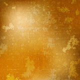 Abstract background with grunge texture. Abstract blurred background in golden colors with grunge texture vector illustration