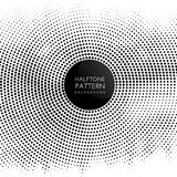 Halftone dots pattern background. Abstract background with a halftone dots design Stock Photo