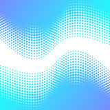 Abstract background with halftone effect. Beautiful blue abstract background with halftone effect Stock Image