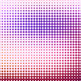 Abstract background with halftone effect. Circles in pink and purple on white background vector illustration