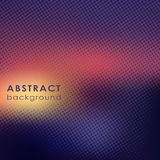 Abstract background with halftone effect Stock Images