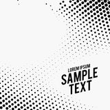 Abstract background of halftone effect. Vector stock illustration