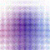 Abstract background with halftone effect, vector illustration. Abstract background with halftone effect. Geometric texture with a set of colorful squares Royalty Free Stock Photography