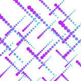 Abstract background with halftone effect, vector illustration. Royalty Free Stock Photo
