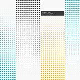 Abstract background with halftone pattern Royalty Free Stock Image