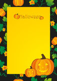 Abstract background Halloween Royalty Free Stock Photo