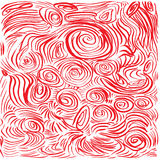 Abstract background. Hand drawn  illustration. Doodles, st. Rokes, spirals Stock Photos