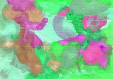 Colorful abstract background of gouache paint. Abstract background, hand-painted gouache, paint strokes. Design for backgrounds, wallpapers, covers, packaging vector illustration