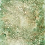 Abstract background, hand-painted green, light green texture, watercolor, splashes, drops of paint, paint strokes. Light