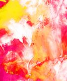 Hand painted abstract background stock illustration