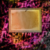 Abstract background with handwrite text Royalty Free Stock Photo