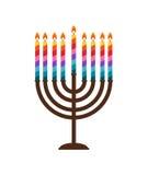 Abstract Background Happy Hanukkah, Jewish Holiday. Vector Illustration EPS10 Stock Photos
